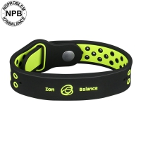 <b>New Buckle Sports Silicone germanium tourmaline Bracelet</b>-P143