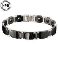 <b>P098 Energy Health 99.99% Pure Germanium Powder Beads Bracelet (unisex)</b>-P098